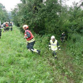 Verkehrsunfall auf der B131 – Ortsteil Pösting